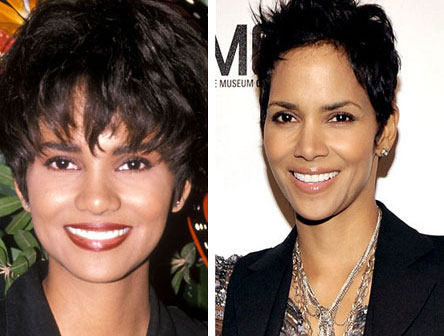 Halle Berry Nose Job