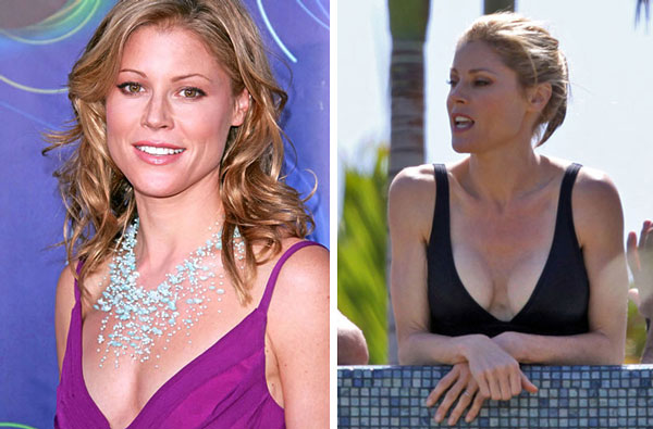 Julie Bowen Breast Implants Before & After