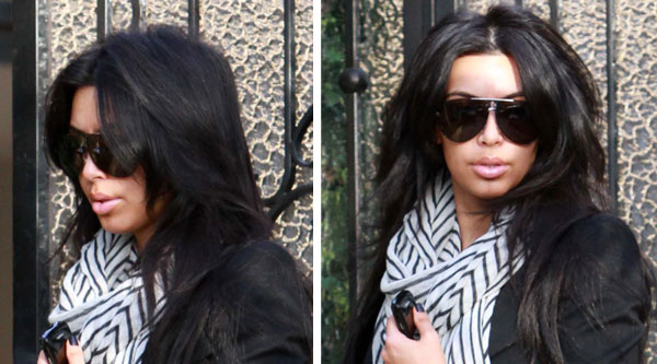 Kim Kardashian Lips Augmentation