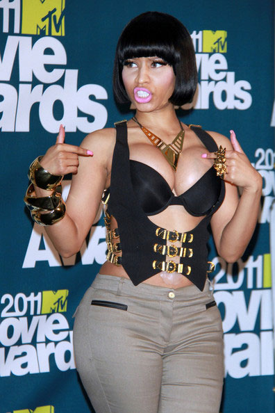 Nicki Minaj Boob Job