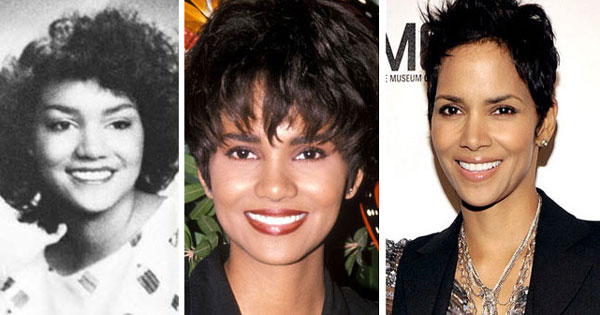 Halle Berry Nose Job Before After Pics