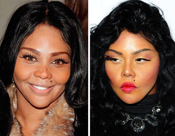 Lil Kim Nose Job Before After